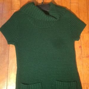 ✨2 for $20✨ModCloth Green Cable Knit Tunic Dress